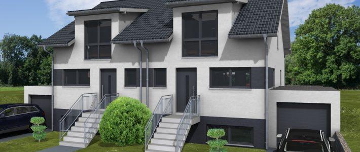 Doppelhaus & Einfamilienhaus in Sulzheim