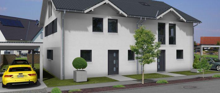 Doppelhaus in Gau-Odernheim