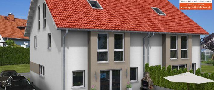 2 Doppelhäuser in Wackernheim