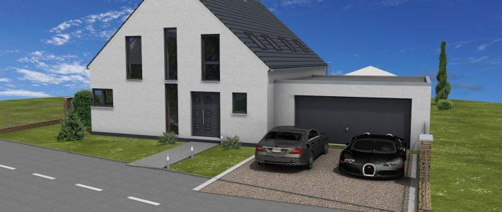 Einfamilienhaus in Armsheim