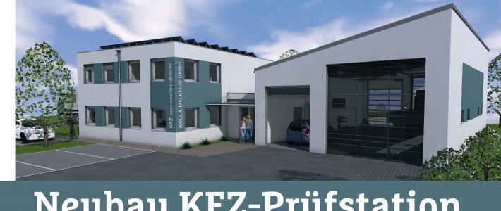 Kfz- Prüfstation mit Bürogebäude in 55286 Wörrstadt
